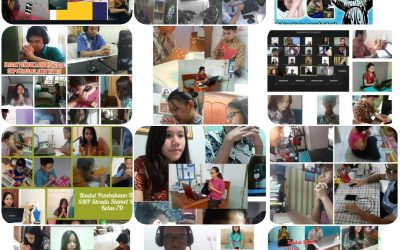 Ibadat Pembukaan Bulan Kitab Suci Nasional SMP Strada Slamet Riyadi Tahun Ajaran 2020-2021