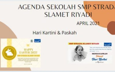 Agenda April 2021 SMP Strada Slamet Riyadi