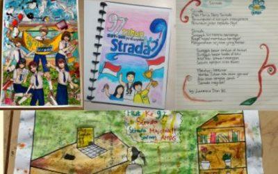 Peringatan HUT Perkumpulan Strada ke -97 di SMP Strada Slamet Riyadi