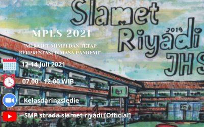 Pengenalan Lingkungan Sekolah (PLS) SMP Strada Slamet Riyadi Tahun Pelajaran 2021-2022